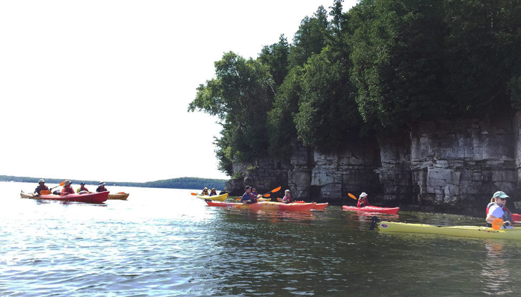 Cave Point Kayak Tour Door County