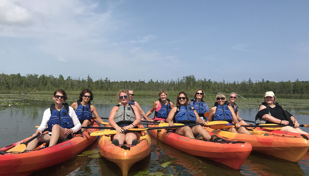 Door County Kayak Tour of Wetlands