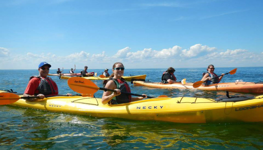 Door County kayak sales, rentals and tours