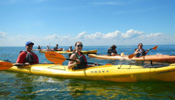 Door County kayak sales, rentals and tours